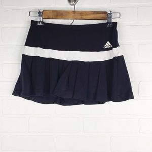 Adidas Tennis Skirt Skort Climalite Black White XS